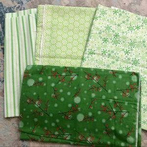 Christmas Sewing Quilting Cotton *scrap bundle